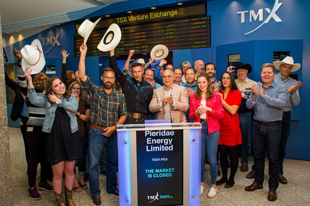 Pieridae Staff Closing the TSX